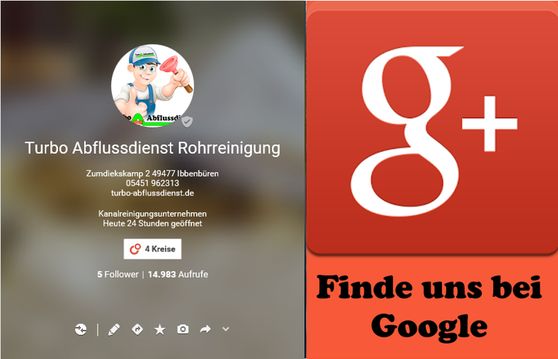 Google+ Turbo Abflussdienst